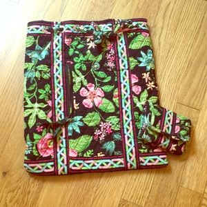 Vera Bradley String Backpack and Matching Wallet